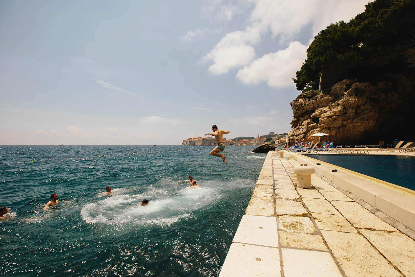 canadian destination wedding in croatia dubrovnik