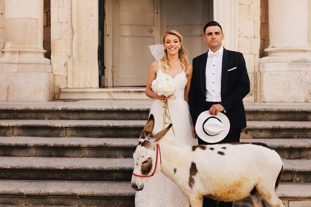 Italian inspired wedding in Dubrovnik, Croatia